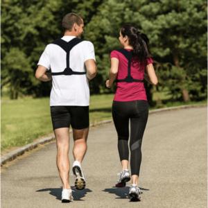 holdningskorrigerede rygstøtte til mænd og kvinder billede